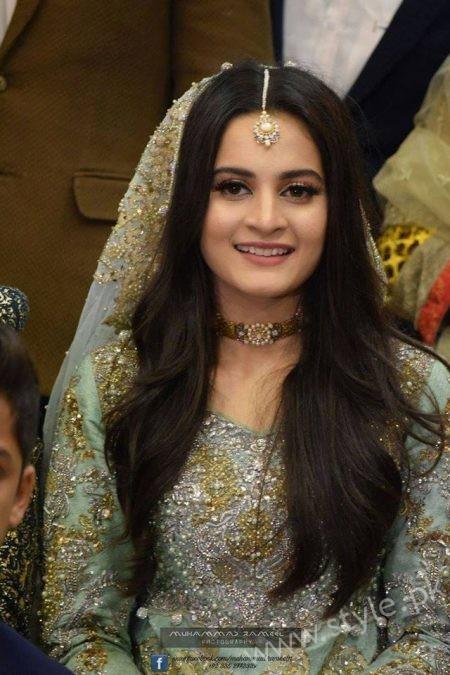 Aiman Khan Muneeb Butt Photoshoot on Engagement (4)