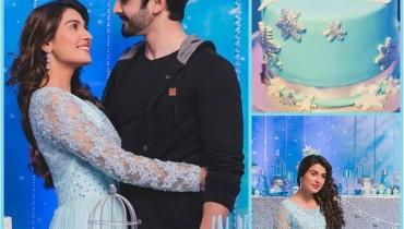 See Ayeza Khan's Birthday Celebration PicturesAyeza Khan's Birthday Celebration Pictures