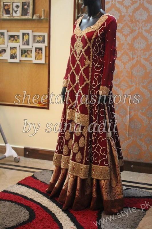 Banarsi Gharara Pakistani Brides (5)