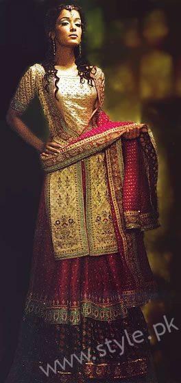 Banarsi Gharara Pakistani Brides (6)