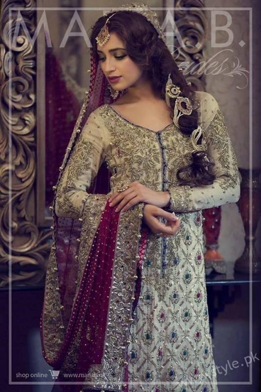 Banarsi Gharara Pakistani Brides (9)