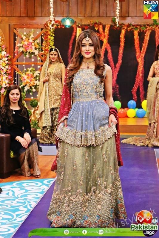 Bridal Fashion Trends In Pakistan Dispalyed At Jago Pakistan Jago