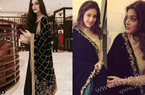 sEE Embroidered velvet shawls are ruling in winters 2017