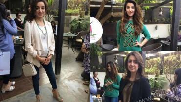 Miss Veet Pakistan 2017 Lunch