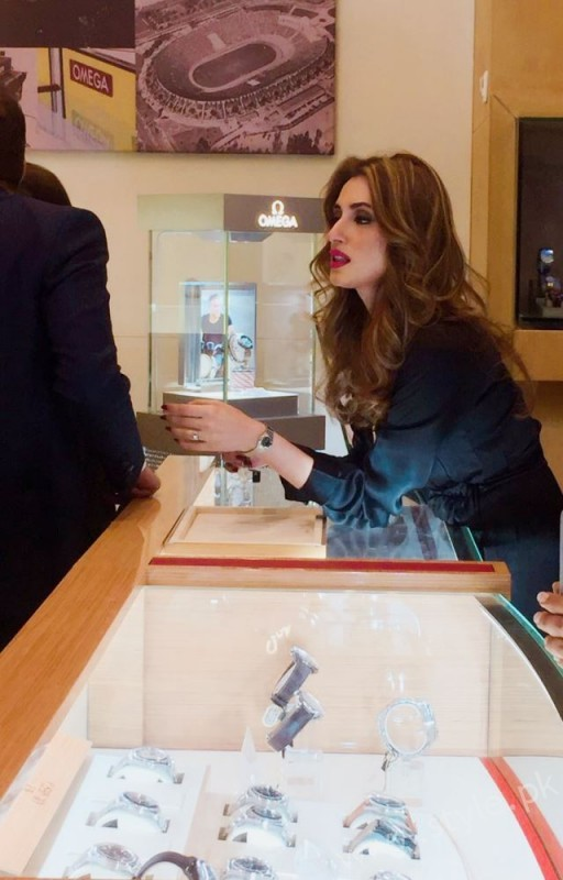 Omega Flagship Corner Launch by Iman Ali - AM PM by Collectibles (1)