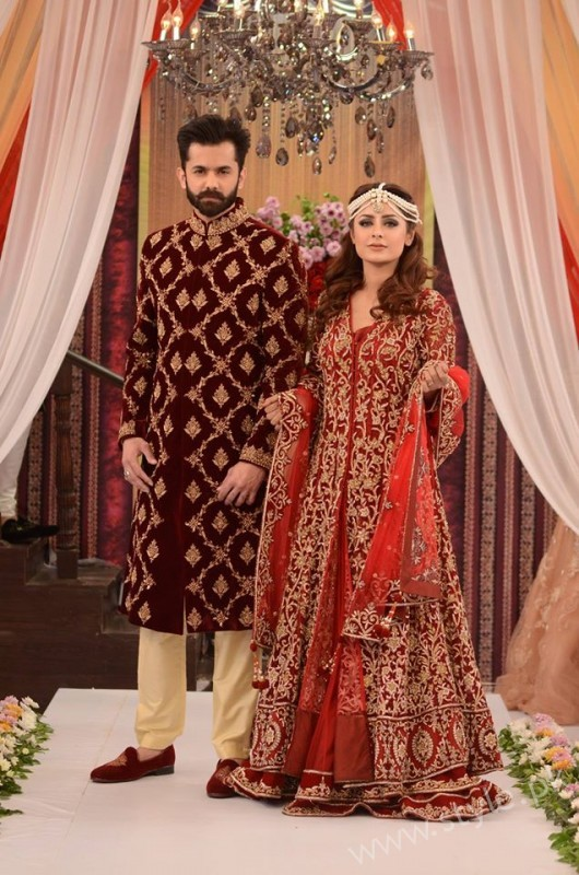 Pakistani Bride S And Groom S Fashion Trends Displayed In