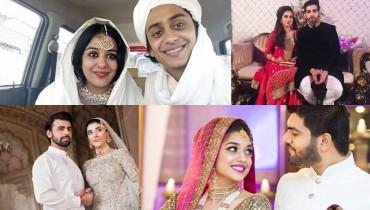 Pakistani Celebrities Married in 2016