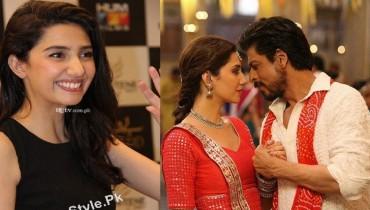 Shah Rukh Khan and Mahira Khan In Raees