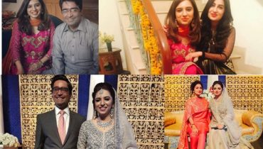 See Anchor Maria Memon Wedding Pictures