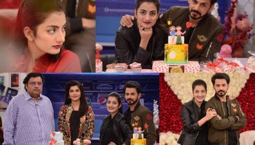 See Beautiful Couple Uroosa Qureshi and Bilal Qureshi in Good Morning Pakistan