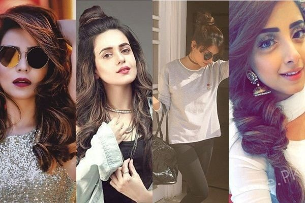 See Best Hairstyles of Pakistani Actresses