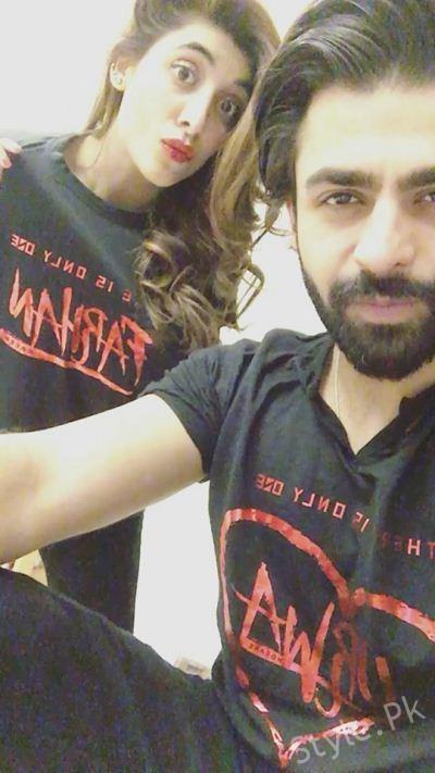 Urwa Hocane and Farhan Saeed On Valentine Day