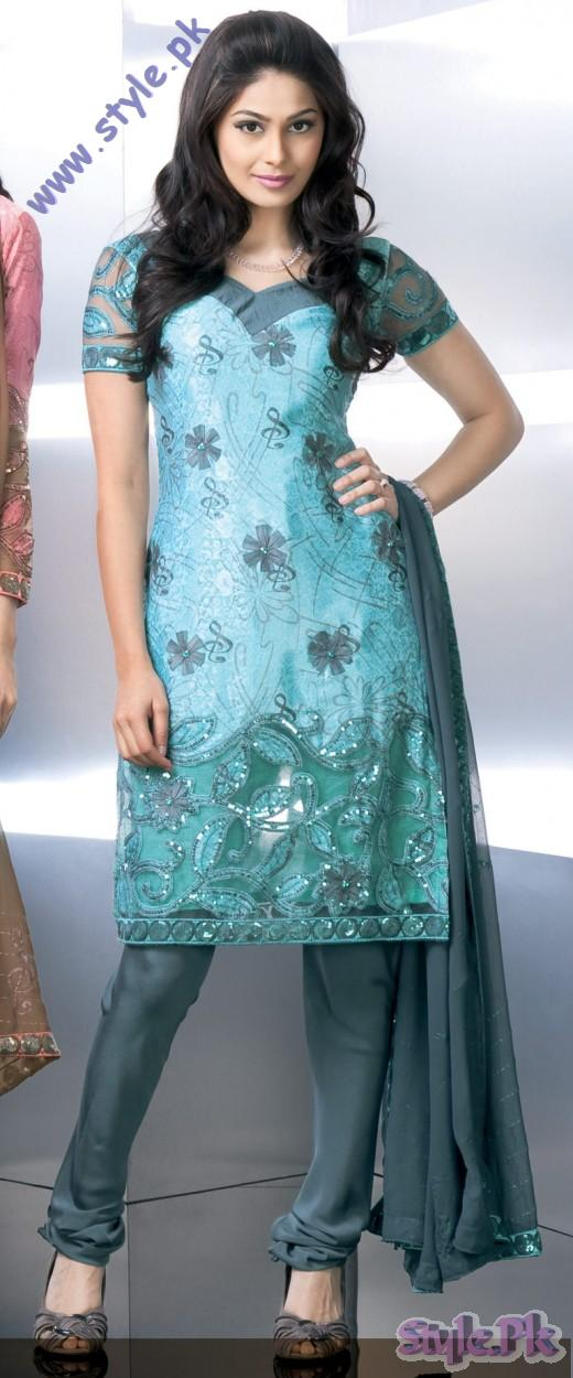 Annada Crepe Eid Salwar Kameez Style for 2011 520x1250 fashion trends