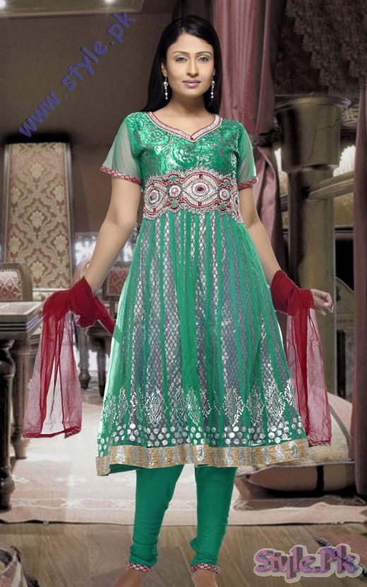 Gorgeous Anarkali Salwar Suit Dress for Eid 520x832 fashion trends