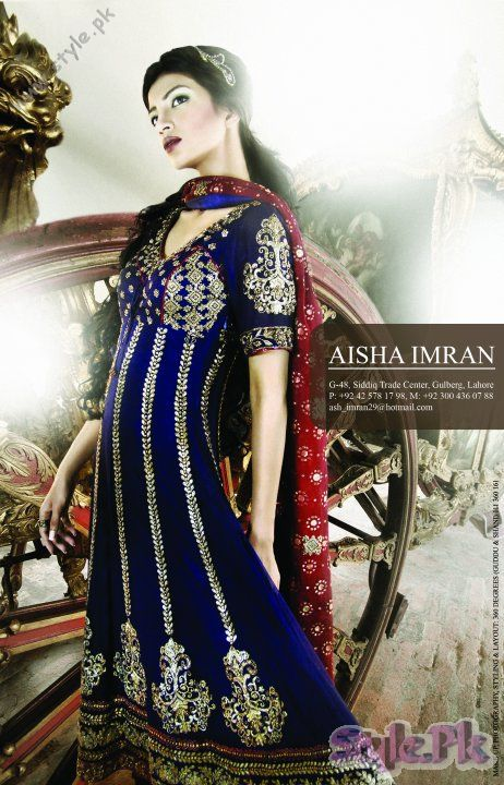 Party Wear Dresses For Women by Aisha Imran fashion trends