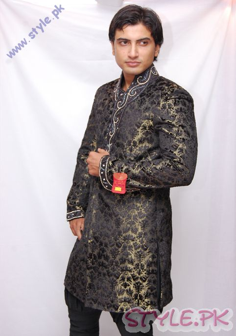 Indo Western Sherwani Styles 2011 sherwani and gowns men wear