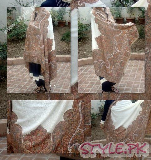 Pashmina Shawal For Ladies New Designs 2011