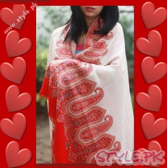 Pashmina Shawl By Paradoosh Valentines Day Collection 2011
