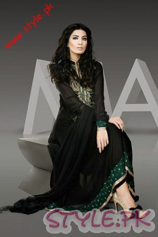 Latest Fashion Trends Maria B Semi Formal Collection 2011 Dresses