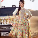 3 Piece Suit With Silk Dupatta by Firdous Cloth