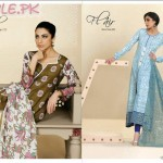 Al Karam Lawn Dresses For Girls