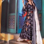 Beautiful Black Lawn Suit for Women by Nishat Linen