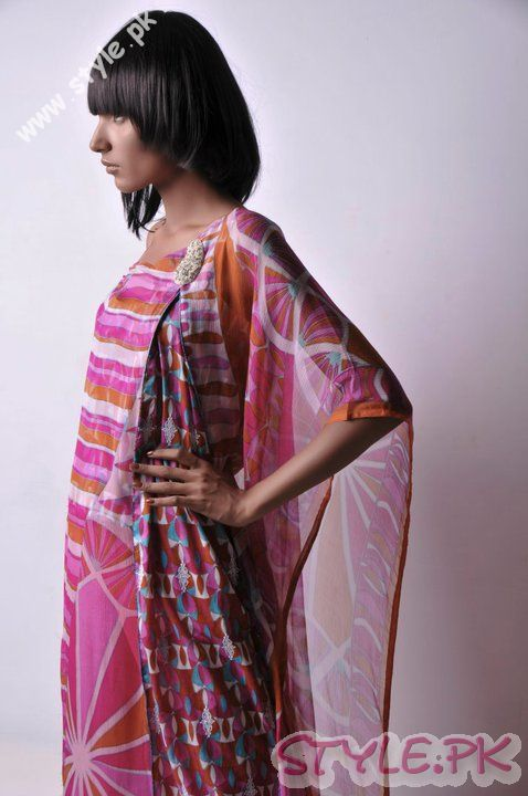 Beautiful Lawn Collection 2011 fashion brands