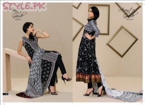 Beautiful Lawn Dresses by Al Karam 300x217 fashion brands