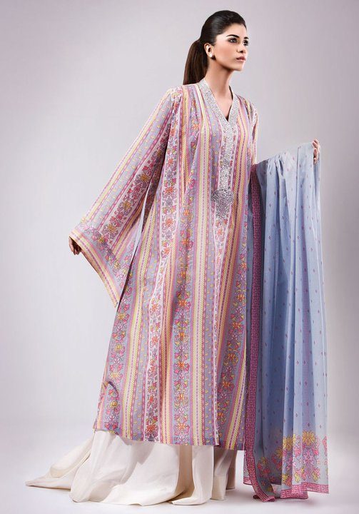 Kayseria Summer Lawn Dresses 2011 12 For Women By Bareeze