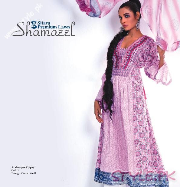Exclusive 2011 Prints by Shamaeel Ansari fashion brands