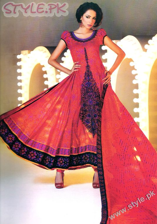 Fashion in Pakistan designer dresses