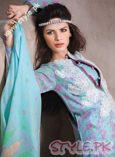 Gul Ahmed Summer Lawn Collection For Pakistani Women fashion brands