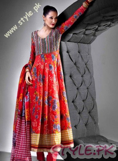Gul Ahmed Summer Lawn Prints 2011 fashion brands