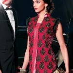 Hot Deepika in Red Dress - Party Wear