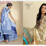 Lawn Dresses For Girls by Al Karam