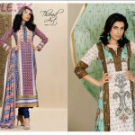 Lawn Dresses For Women by Al Karam