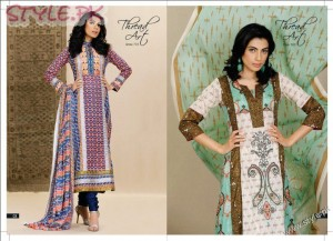 Lawn Dresses For Women by Al Karam 300x217 fashion brands