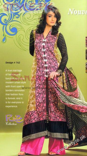Lawn Prints by Riwaj Fashion fashion brands