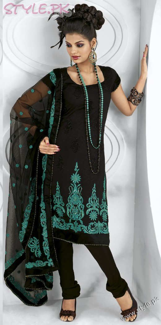 Long Kameez With Trouser For 2011 fashion trends