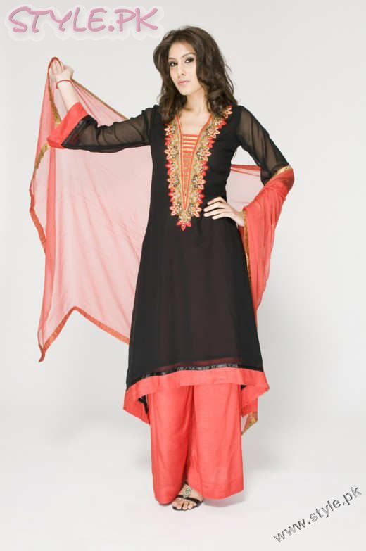 Long Kameez With Trouser For Girls fashion trends