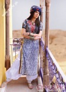Mahnoor Baloch in Long Shirt and Punjabi Salwar