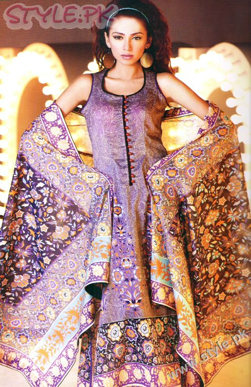 Nomi Ansari Lawn Collection 2011