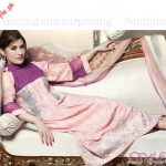 Pakistani Beauty Queen Shaista Wahidi Posing For Firdous Cloth Dresses