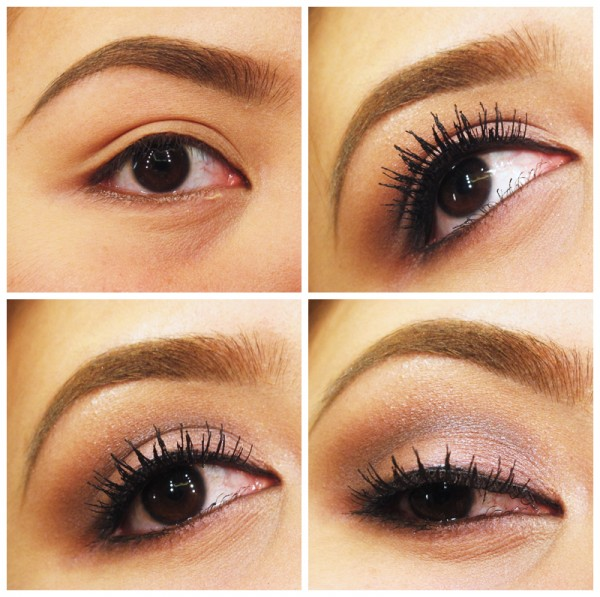 Romantic Eye Makeup Tutorials For Girls 600x597 makeup tips and tutorials
