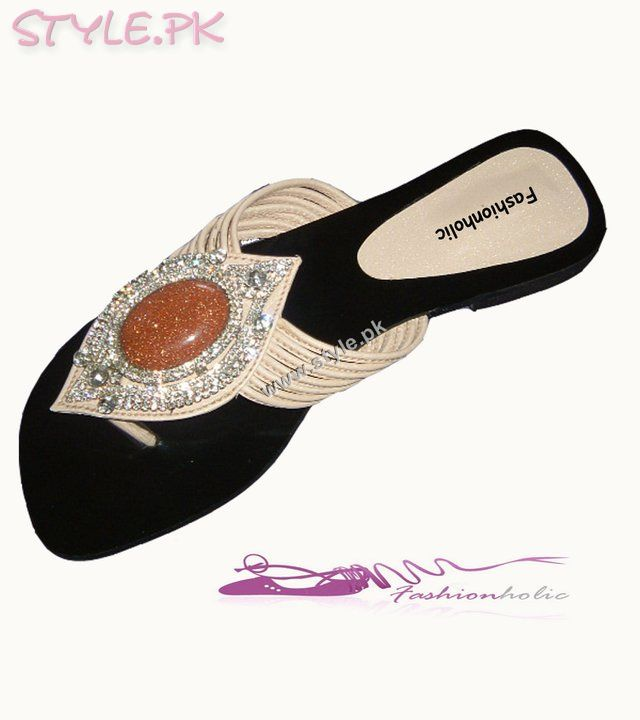 Party Wear And Casual Flat Sandals For Women By Fashionholic