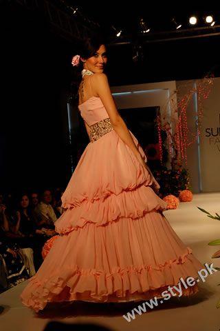 Beautiful Frock By Karma At Pfdc Fashion Week 2011