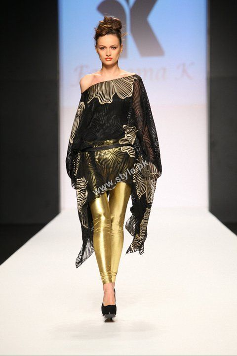 Third day of dubai fashion week 2011 and indian fashion Contemporary fashion designers