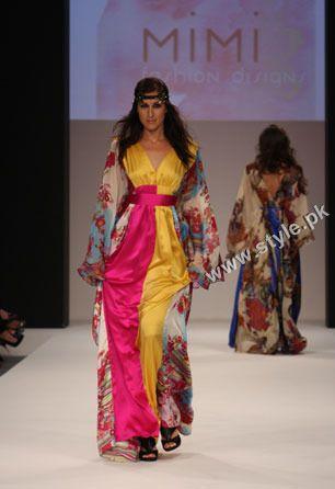 Mimi By Mariam Al Mazro In Dubai Fashion Show