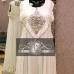 Embroidery Work on Frocks by Hina Khan