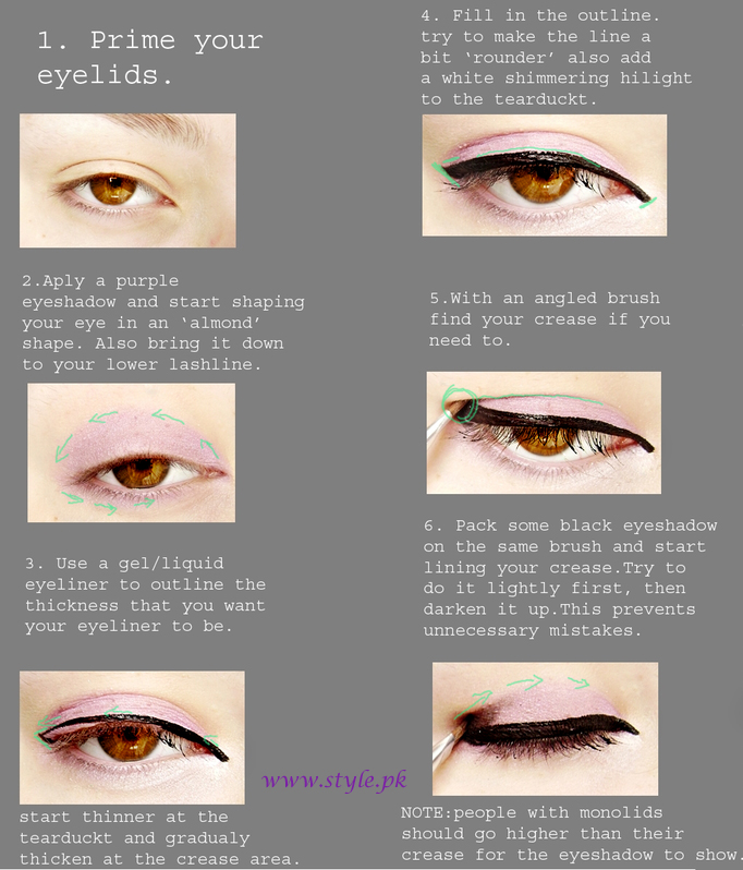 Eye makeup tips brown eyes